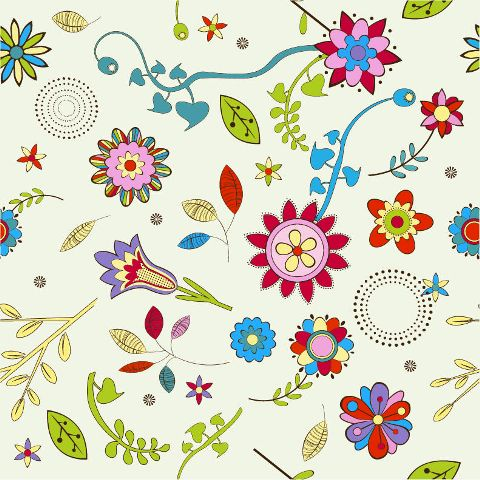 Different Types Of Flowers Clipart