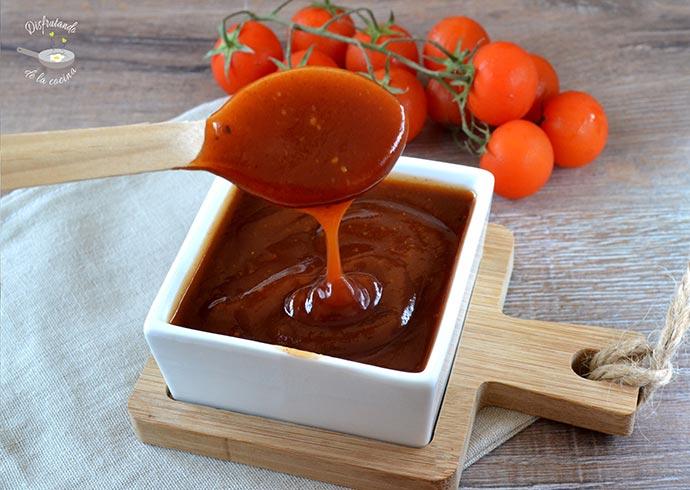 Salsa barbacoa casera (Receta fácil)