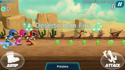 Download Power Rangers Dash Free Game
