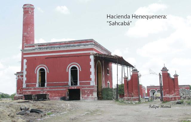 Hacienda Sahcabá de Cacalchén en Yucatán