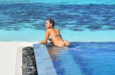 Farrah Abraham Flaunts Her Bikini Figure During Maldives Vacation.