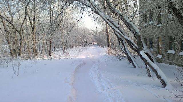 Зима в Комсомольске