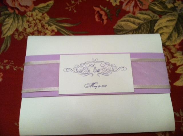 Proper Way To Stuff Wedding Invitations: Wedding Planning