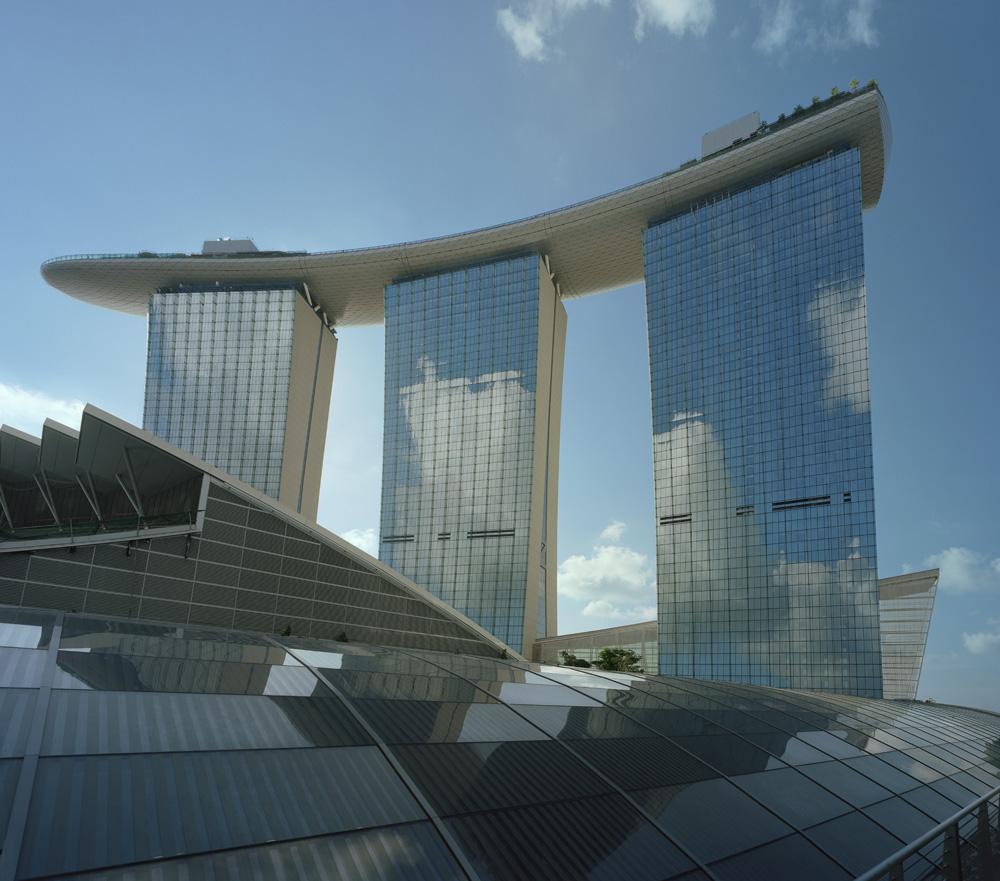 Marina Bay Sands Hotel Singapore 2 Hotel Architecture