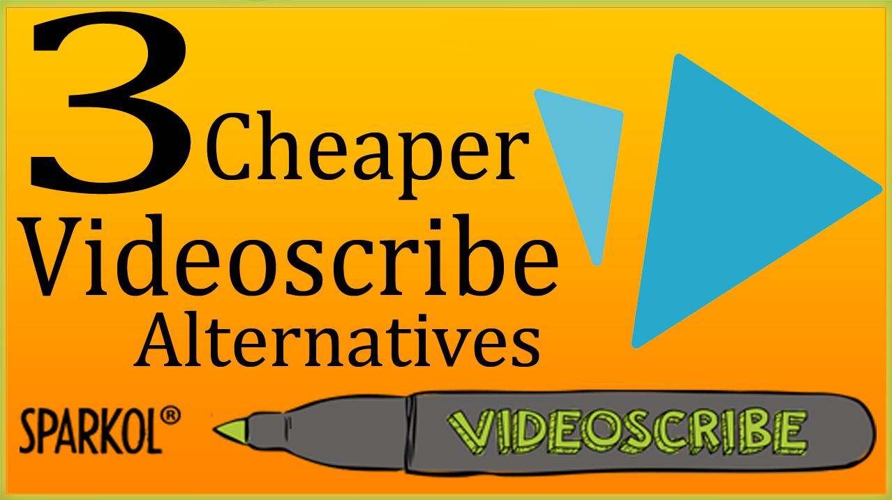 Videoscribe Alternatives   3 Video Scribe Software Cheaper Than
