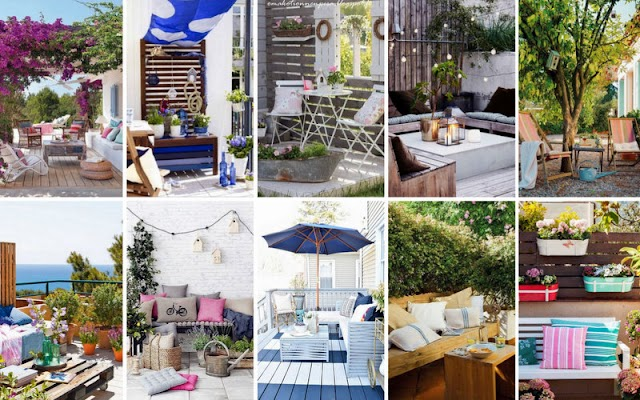 50+ Καλοκαιρινές διαμορφώσεις για  Κήπο - Μπαλκόνι
