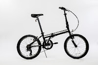 "EuroMini ZiZZO Campo in black, image, lightweight 20"" 7-speed folding bike"