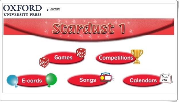 """""""Stardust"""". Inglés de 1º Nivel de Educación Primaria. Editorial Oxford."""