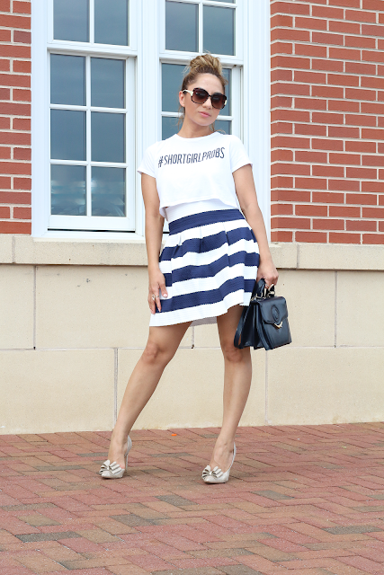 striped teacup skirt