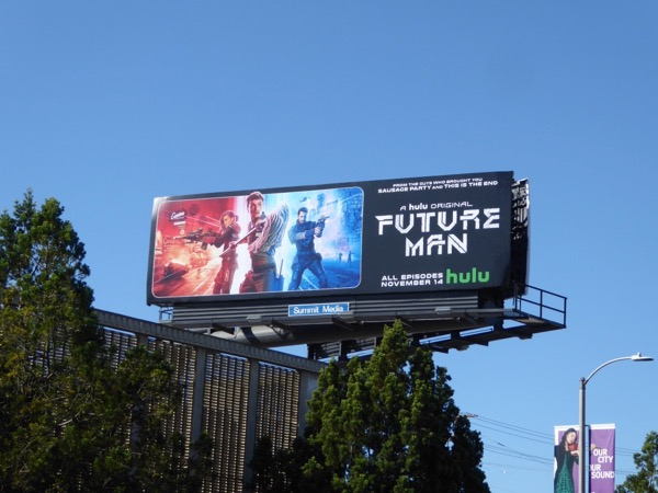 Future Man season 1 billboard