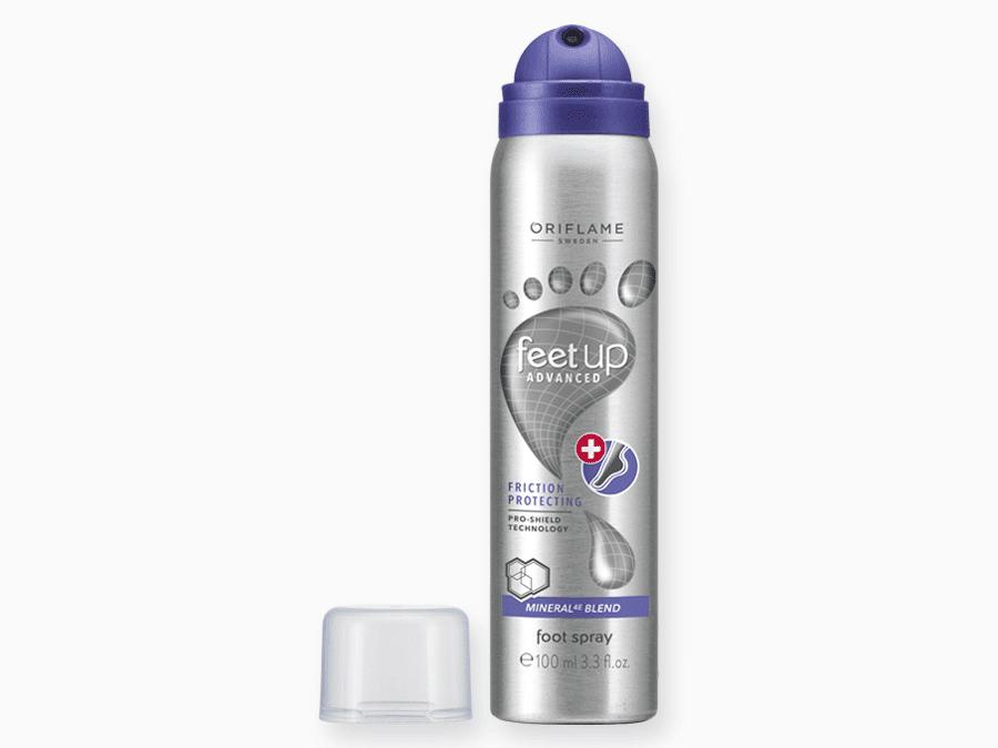Spray de Pés Antifricção Feet Up Advanced da Oriflame