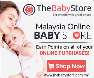 Giveaway Nurfuzie & THE BABY STORE - Malaysia Baby Online Shop