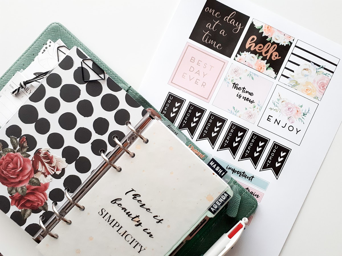 Plan With Me [4-10 Mars 2019] Planner Personal - Inspiration Heidi Swapp