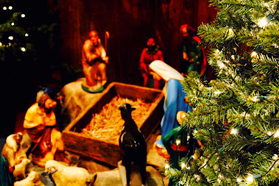 Manger scene at local Ottawa church