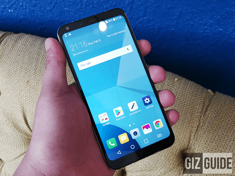 LG Q6 Plus w/ 18:9 screen, 4GB RAM, and 64GB ROM arrives in PH!