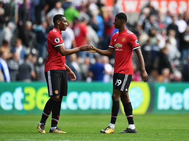 Rashford-Martial yang Bikin Mourinho Pusing