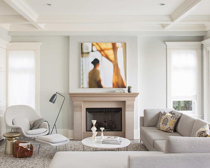 Sala de estar elegante