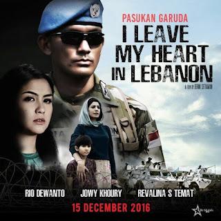 Sinopsis Film I Leave My Heart in Lebanon (2016)