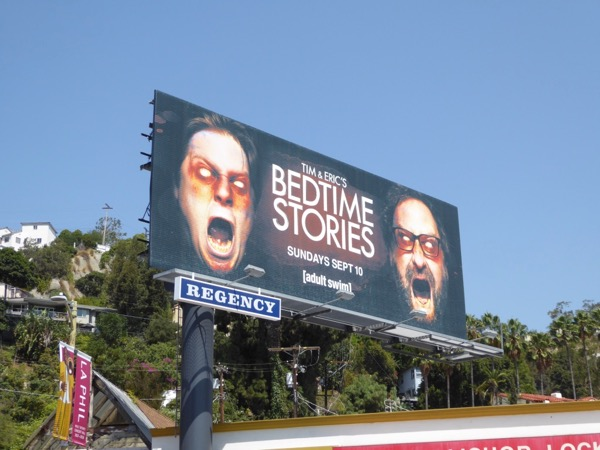 Tim Eric Bedtime Stories season 2 billboard