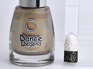 Regular nail polish stamping swatches /  [Dance Legend] New Messiah, スタンピングネイル