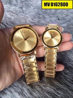 Đồng hồ đeo tay Movado Đ162800 sợi dây kết nối tình yêu của hai người