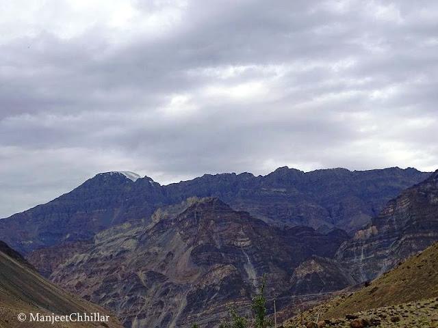 Snow Mountains of Spiti