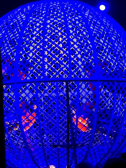 The Globe Of Terror at #ZipposCircus