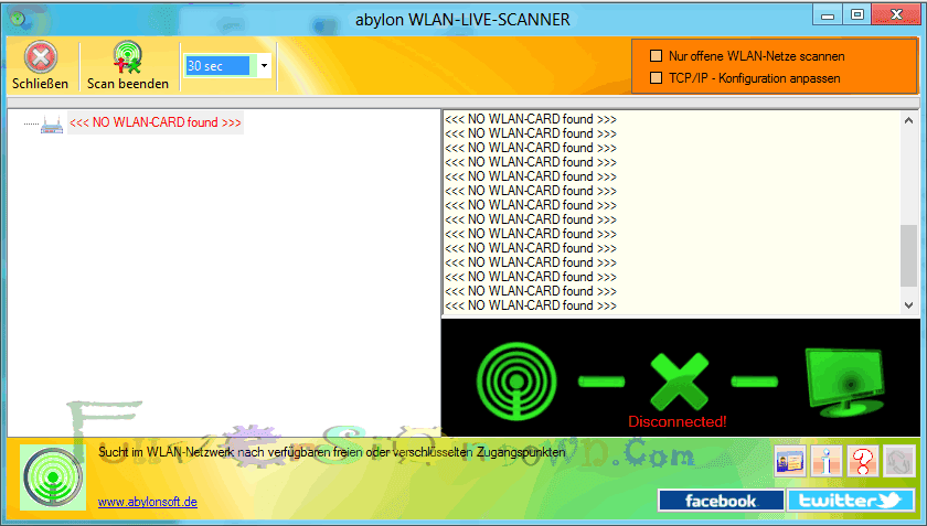 Abylon WLAN-LIVE-SCANNER 2015.9 Full Version