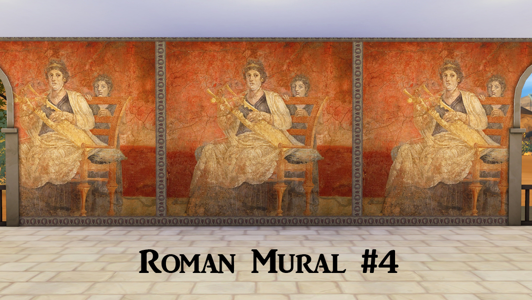Ts4 ancient rome murals history lover 39 s sims blog for Ancient greek mural