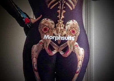 my backside in a morphsuit
