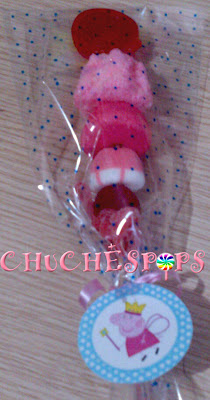 Brocheta de Chuches Peppa Pig
