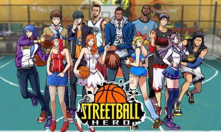 Streetball Hero Mod (Game Basket Jalanan Android) • Miftatnn