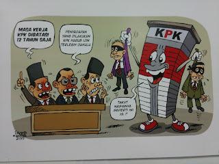 Do'a Kami, Lindungi Dan Mudahkan Pembrantas Korupsi