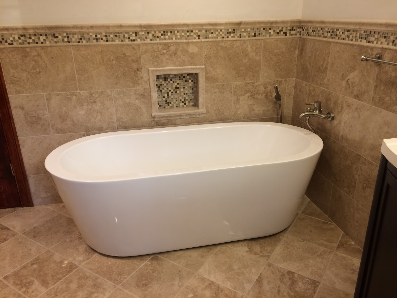 Bathroom Remodeling Fairfield Ct custom bathroom remodeling: cappucino polished marble bathroom