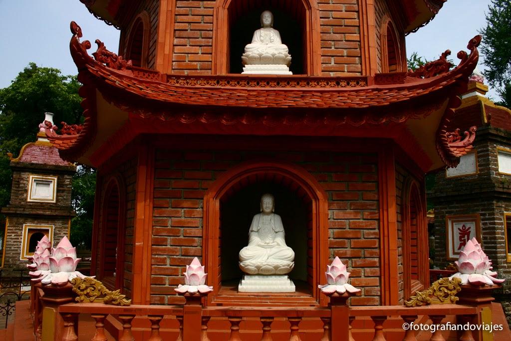 pagoda de Than Quoc en Hanoi