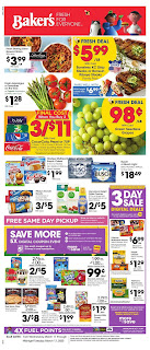 ⭐ Bakers Ad 3/25/20 ⭐ Bakers Weekly Ad March 25 2020
