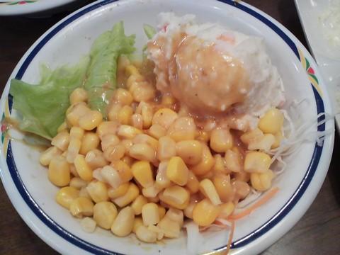 サラダ4 ステーキガスト一宮尾西店8回目