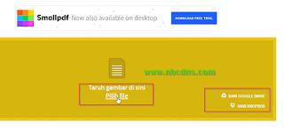 Cara Merubah Foto Gambar Ke PDF Secara Online Dan Offline Tanpa Aplikasi