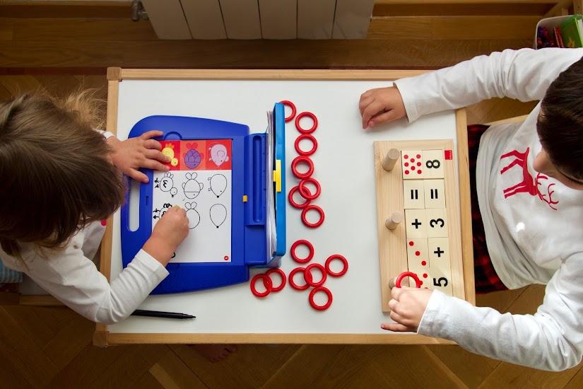 Cómo estimular las habilidades escolares a través del juego