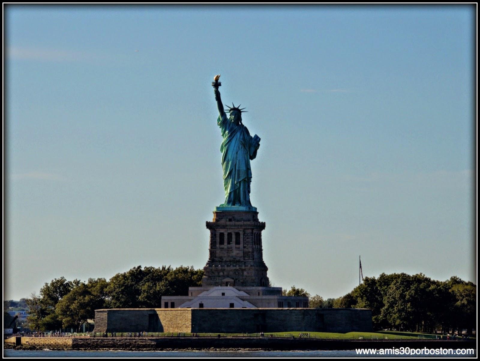 Segunda Visita a Nueva York: Estatua de la Libertad