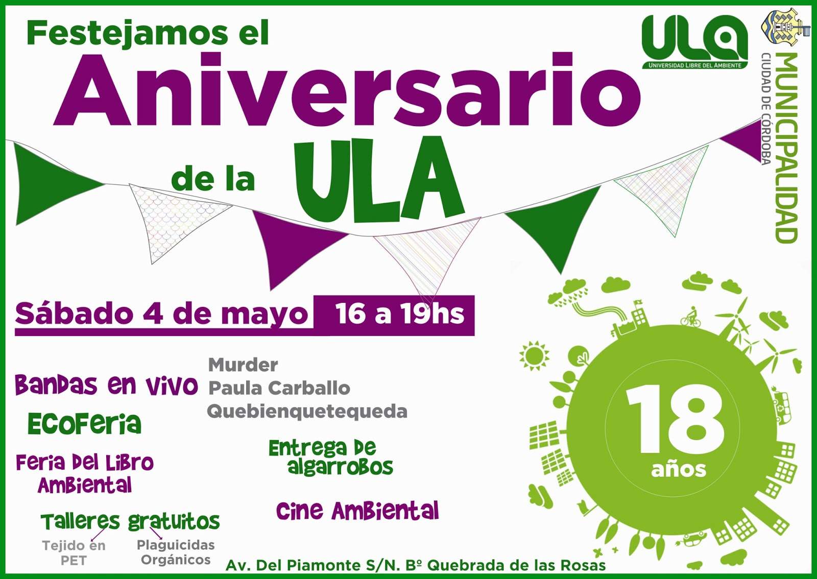 Universidad Libre Del Ambiente : Abril 2013