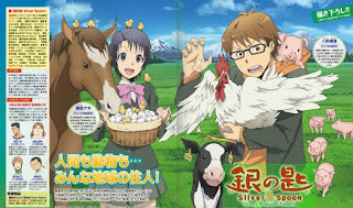 gambar anime Gin no Saji (Silver Spoon)
