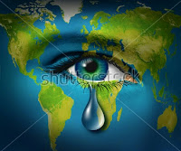 earth in tears (save earth)