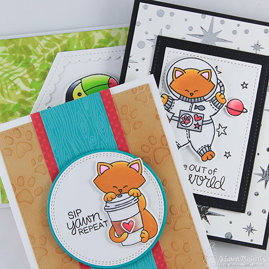 Stencil Tutorial by Juliana Michaels | Stamps & Stencils by Newton's Nook Designs #newtonsnook