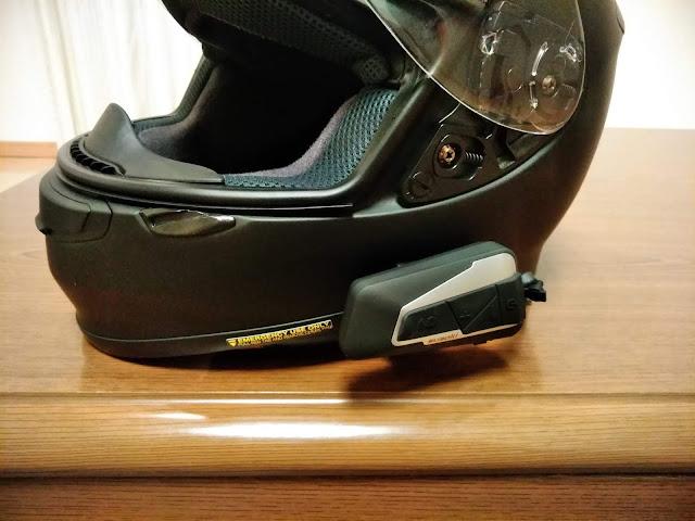 バイク用インカム・T9Sの画像