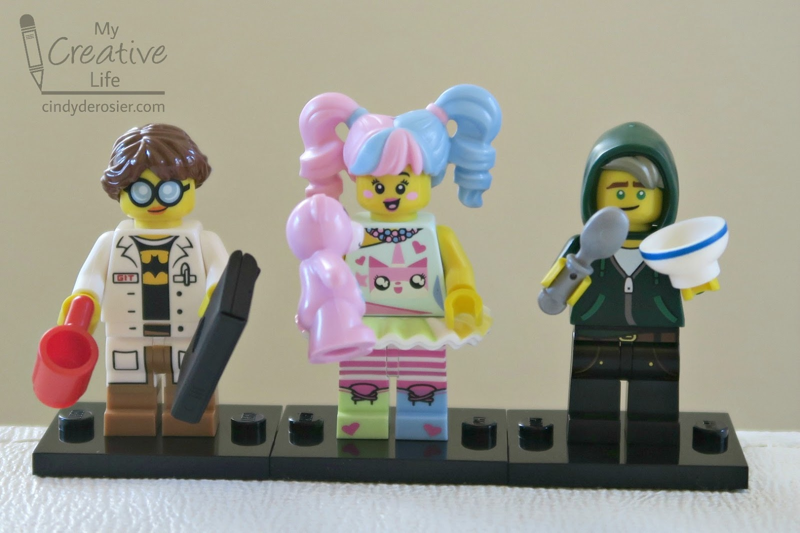 The Second Trevor Was Done With Minifigs He Started Building Main Kit While Did That I Made LEGO Ninjago Finger Puppets
