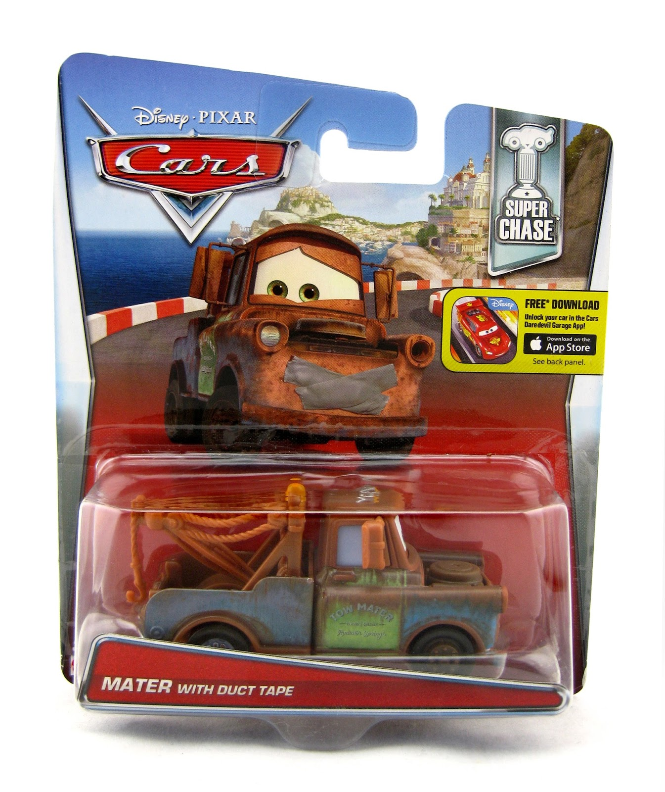 Dan The Pixar Fan Cars 2 Mater With Duct Tape Super Chase