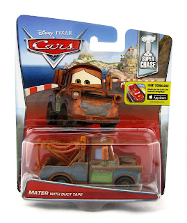 cars 2 mater with duct tape super chase