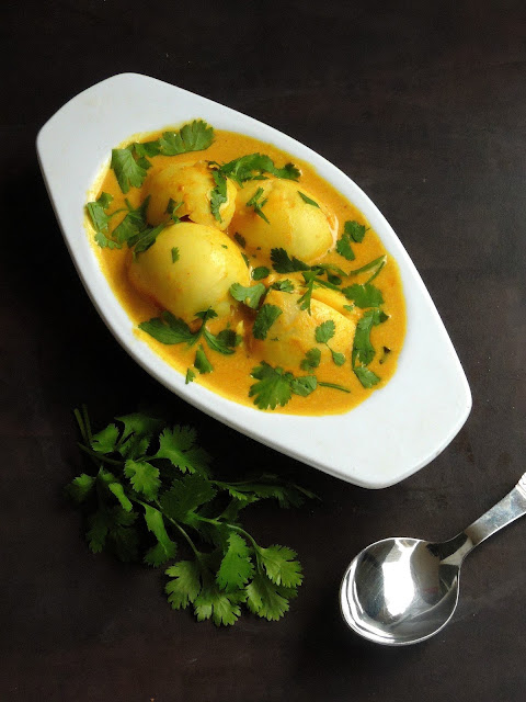Nadan Mutta Curry, Kerala Egg Curry