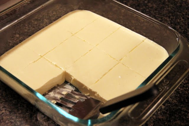 scratch made wife low carb cheesecake squares. Black Bedroom Furniture Sets. Home Design Ideas